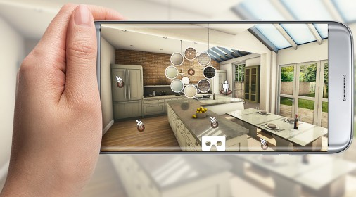 unity3d开发的家居软装物料置换app介绍