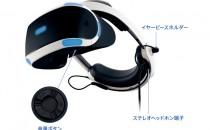 PS VR宣布新改款!内置耳机、简化配线14日日本上市