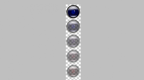 如何制作多帧动画的png图片