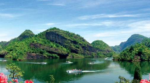 丹霞湖度假村全景漫游