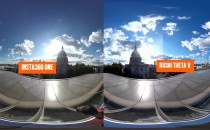 【实测】insta360与理光Theta全景相机画质PK