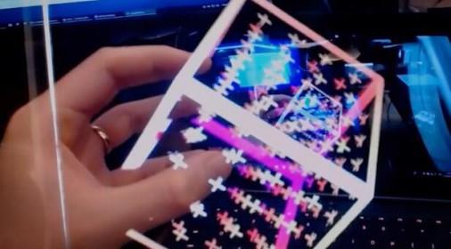 Leap Motion's实验版AR设备震撼预告