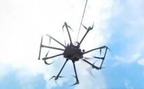 快速去除全景视频航拍的无人机和脚架