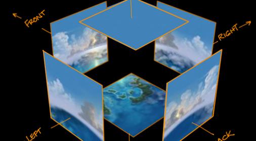 threejs模型插入天空盒全景场景