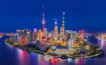 【全景图精品】上海外滩高清全景航拍的日/夜景致