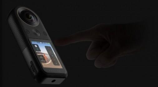 QooCam 8K360度全景运动相机VR高清户外防抖vlog相机摄像机