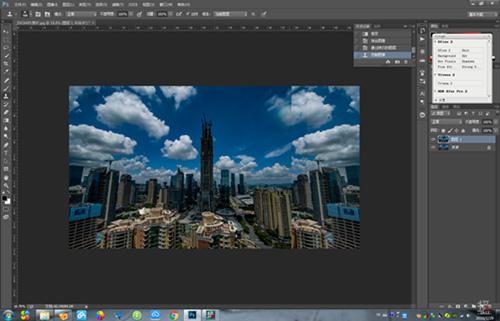 360度全景图后期制作