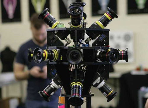 VR全景视频拍摄设备