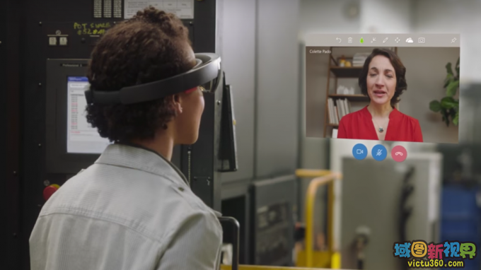 Work faster together in mixed reality with Remote Assist.