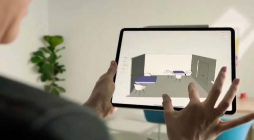 新iPad Pro的双摄结合LiDAR带来全新的AR体验