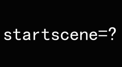 解决无法在everpano项目中使用startscene场景选择参数的问题